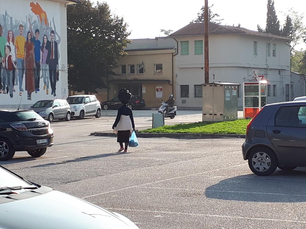 Scatto rubato qualche giorno fa nel piazzale davanti alla nostra scuola