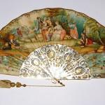 Ventaglio Artistico. Introdotti nel periodo Barocco, inizialmente riportavano paesaggi.